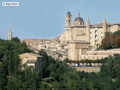 Urbino (PU) - pic by Diego Olivieri - Barcelona Cathedral, Mansions, House Styles, Building, Travel, Italia, Mansion Houses, Villas, Buildings