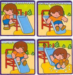 Ειδική Διαπαιδαγώγηση : Αλληλουχίες (Ασκήσεις για παιδιά με αυτισμό-βιβλιαράκι)