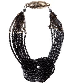 Beads Necklace  by Rosantica #Matchesfashion
