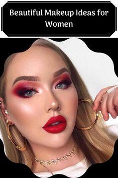 Beautiful Makeup Ideas for Women Pretty Natural Makeup Idea A natura makeup is pretty enough in daily life. Under Eye Makeup, Black Eye Makeup, Green Makeup, Makeup For Brown Eyes, Beauty Make Up, Beauty Tips, Beauty Hacks, Mask Makeup, Skin Makeup