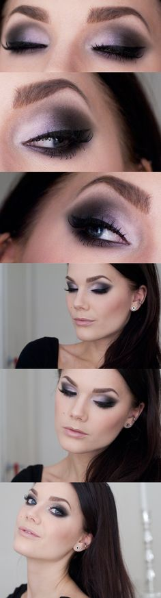 """Linda Hallberg """"Another One For New Years Eve""""   Softly smoky grey eyes with a hint of lilac"""