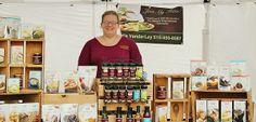 This is Anthony Cornett's photo of a vendor at Centralia, Missouri's 2014 Anchor Fest.