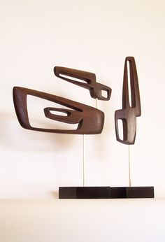 Mid Century Modern Art Sculpture Eames Era Tiki 60's Retro Danish Modern Sputnik Cool. $175.00, via Etsy.