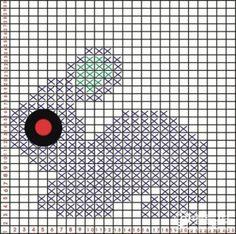 Озорные петельки: Кофточка с зайчиками