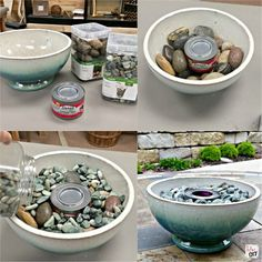 Friend and Family gatherings are one of the best parts of life! Spice up your outside entertaining with these table top fire pit bowls. Easy DIY tutorial!