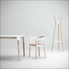 Bouroullec's steelwood.