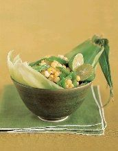 Sauteed Corn and Snow Peas