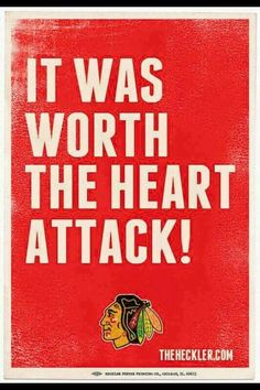 Hawks are Stanley Cup Champs!!! 3 in 6!!!