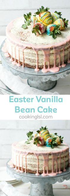 http://bestkitchenequipmentreviews.com/pressure-cooker/ Vanilla Bean Layer Cake With Cream Cheese Whipped Cream