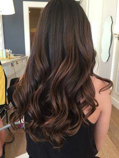 Haley Baravarian at Dry Bar Haley Baravarian at Dry Bar Brown Hair Balayage, Hair Highlights, Ombre Hair, Bayalage, Beautiful Brown Hair, Gorgeous Hair, Pinterest Hair, Brown Hair Colors, Hair Colour