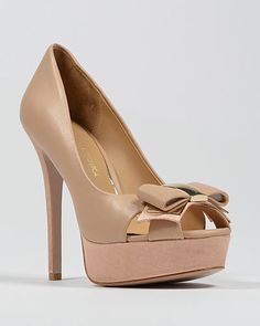 Conary Platform Peep Toe Pump