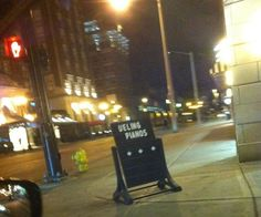Is Nothing Sacred? Looks like Mojo's Dueling Piano Bar needs put an Amber Alert out for the D on their sign!