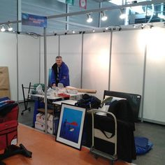 To be ready at the #parisdiveshow for the opening tomorrow #plshow