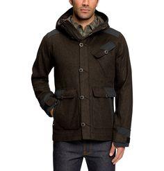 Men's Wool Patrol Jacket | Nau Clothing