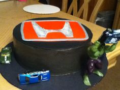Honda loving Hulk Cake