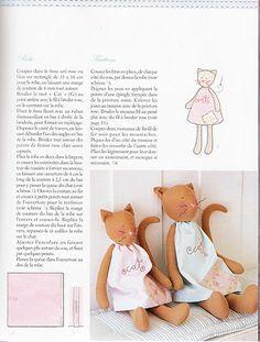 BONECAS PEPA: Gatinhas e seus moldes!