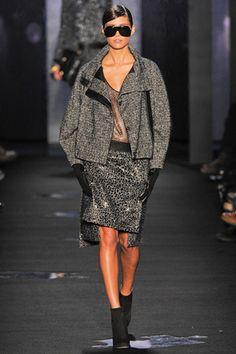 Fall 2012 Diane von Furstenberg- Runway