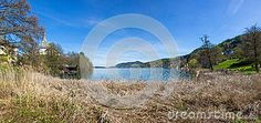 #Lake #Woerthersee #View From #Beach #MariaWoerth @Dreamstime #Dreamstime @meinwoerthersee @carinzia #ktr15 #nature #landscape #panorama #season #spring #summer #austria #carinthia #outdoor #travel #sightseeing #vacation #holidays #bluesky #stock #photo #portfolio #download #hires #royaltyfree