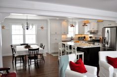 A Nurse And A Nerd: Kitchen Details---lovely~  http://hookedonhouses.net/2014/06/19/how-a-nurse-and-a-nerd-gave-their-kitchen-a-makeover/
