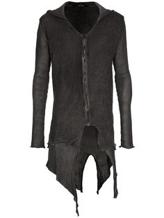 Lumen et Umbra | Layered Cardigan with Hood.