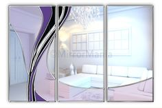 Vortex Original Handcrafted Coloured Glass Wall Mirror – Autumnal, from British Mirror Artist Phillip Orr – Bespoke Mirrors Glass Wall Art, Home Wall Art, Glass Wall, Mirror Art, Art Deco Mirror, Mirror Wall Art, Purple Walls, Contemporary Room, Glass Mirror