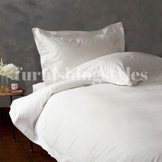Pair of  White Colour House Wife Pillow Cases T200  Luxury Egyptian Cotton #LuxuryBeddingWhite