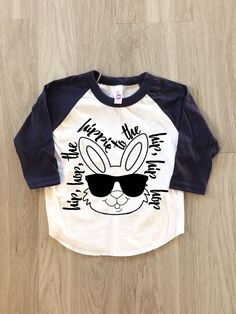 Hip Hop Easter Shirt  baby boy or girl by 8thWonderOutfitters