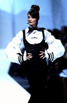 Helena Christensen - Claude Montana 1996