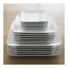 Square Plates - Crate & Barrel