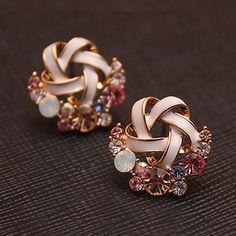 diamond, earrings, fashion, lovely