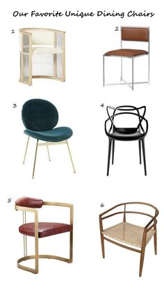Image via With so many beautiful dining chair options out there, it can be overwhelming to find the perfect set. To help you narrow down your options, we have g