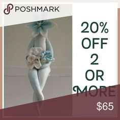 20%OFF on HOLD~Mrs. Turquoise~facebook.com/cazamic The 20% off is on hold while there is a BOGO free sale.  Thanks!!  English artist Carolyn Clayton has been so kind to let me use her photos of her unique handmade sculptures of Lily People. She also designs more Flower People which can be purchased at cazamic.com. Cazamic Other