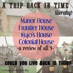 Could you live back in time? – Le Chaim on the Right