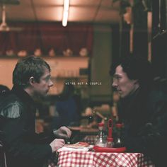 I know. It's just that this picture is so cute. :)  Sherlock and John