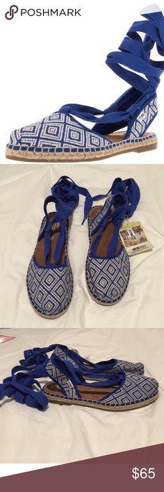 TOMS Espadrille Lace-Up TOMS Espadrille Lace-Up. Never worn. Size 7 TOMS Shoes Espadrilles