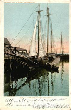 A Cape Ann Fishing Schooner