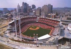 The Great American Ball Park: Home of the Cincinnati Reds, Cincinnati, Ohio, USA ... #MLB