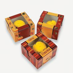 12 Fall Cupcake Boxes - OrientalTrading.com..for the cake walk.