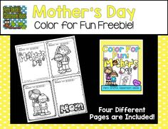 Mother's Day activities: Fern Smith's FREE Mother's Day Fun and a Freebie! Teacher Freebies, Classroom Freebies, Classroom Ideas, Teacher Tips, Art Classroom, Mother's Day Activities, Fun Classroom Activities, Classroom Resources, Mothers Day Crafts