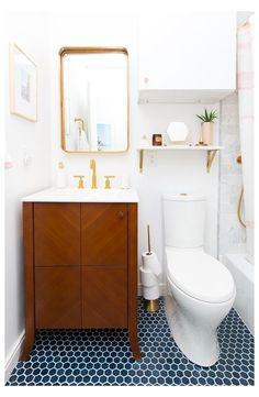 Diy Bathroom Decor, Diy Home Decor, Bathroom Renovations, Bathroom Ideas, Front Room Furnishings, Mid Century Modern Bathroom, Make Design, Mid-century Modern, Decor Ideas