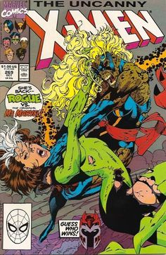 The Uncanny X-Men #269 (1981 series) - cover by Jim Lee