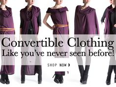 YAY convertible clothing