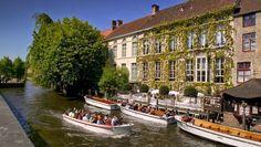 Shabby and Charme: A Bruges un antico chiostro trasformato in un bell...
