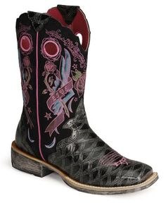 OMG! for the wedding :D a little bit country and a little bit rock and roll ;) Ariat Rodeobaby Rocker Boots
