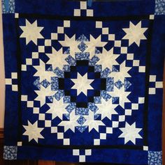 Snow Flurries - A pattern by Deb Tucker