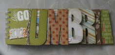 paperandco: Minialbum Umbria Mini Books, Rigs, Mini Albums, Paper, Wedges, Mini Scrapbooks
