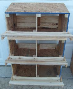 nesting boxes |