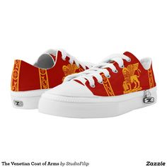 The Venetian Coat of Arms Printed Shoes
