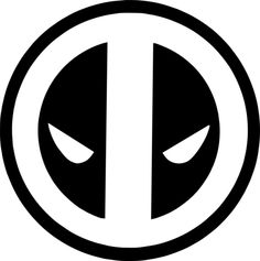 Marvel - Deadpool Logo Vinyl Decal