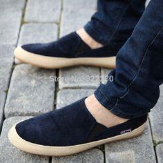 d43de782d Оптовая продажа горячая распродажа мода новый летний бездельники мужской  обуви дышащий туфли квартиры круглый toe1320 купить в магазине sister's на  ...